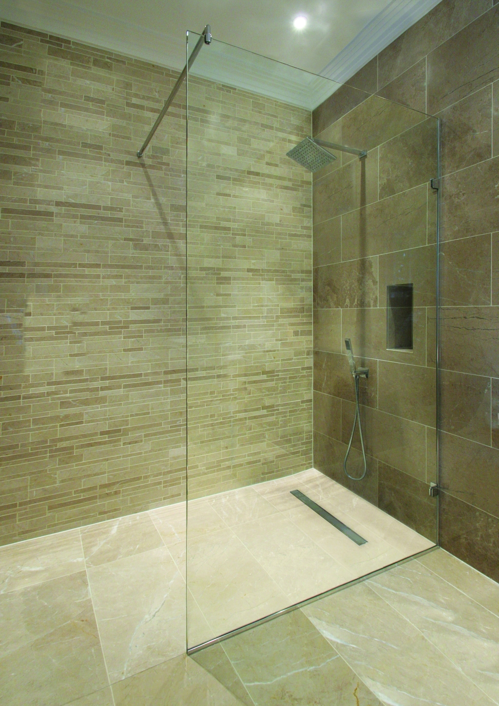 Bathroom design ideas bathrooms designs ireland living for Shower room flooring ideas